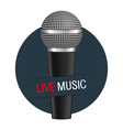 Live Music Banner vector image vector image