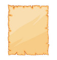 old paper torn parchment symbol icon design vector image vector image