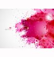 pink blots vector image vector image
