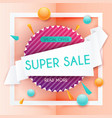 sale banners design discounts and special offer vector image vector image