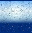 water drops and rain vector image