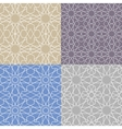 Arabic islamic seamless pattern setGeometrical vector image