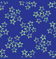 bright star field texture seamless pattern vector image