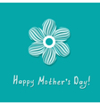 mothers day greeting vector image