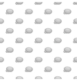 Stones pattern cartoon style vector image