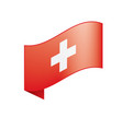 Switzerland flag vector image
