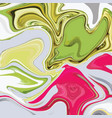 liquid marble texture design colorful marbling vector image