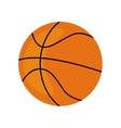 Ball icon Basketball design graphic vector image vector image