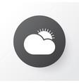 clear sunrise icon symbol premium quality vector image vector image