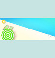 hello summer top view on swimming pool with vector image
