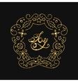 Joy Golden Lettering Design Typographic vector image vector image