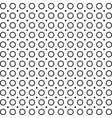 monochrome dotted polka dot pattern vector image vector image