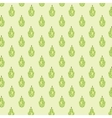 Seamless pattern with geometric pears vector image vector image
