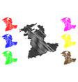 bern map vector image