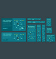 business training game and competition a set vector image