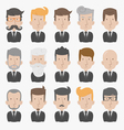 Businessman with White Background eps10 vector image