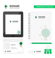 candy business logo tab app diary pvc employee vector image vector image