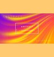 modern orange purple liquid wave background vector image