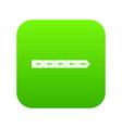 percentage arrow infographic icon digital green vector image vector image
