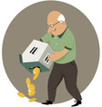 Reverse mortgage vector image vector image