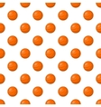 Basketball pattern cartoon style vector image vector image