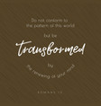 bible quote typographic vector image vector image