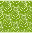 botanical arts on matcha coffee or tea surface vector image