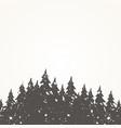forest landscape2 vector image vector image