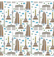 germany berlin landscape seamless pattern vector image vector image