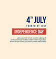 independence day background style collection vector image vector image