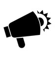 loud megaphone icon simple style vector image vector image