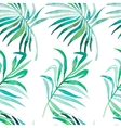 Palm leaves pattern Seamless tropical pattern vector image vector image