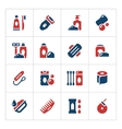 Set color icons of hygiene vector image vector image