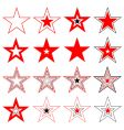stars design elements vector image