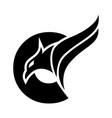 initial c eagle creative logo concept vector image vector image