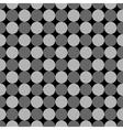 Polka dot geometric seamless pattern 5510 vector image vector image