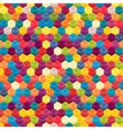 Seamless Background of Hexagons vector image vector image