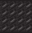 seamless pattern with a linear laptop cellphone vector image