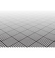 Textured checked surface vector image