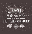 travel with direction and vector image vector image