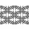 Vintage Abstract geometric floral classic pattern vector image vector image