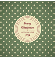 Vintage christmas card background vector | Price: 1 Credit (USD $1)