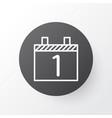 calendar month icon symbol premium quality