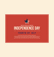 collection stock of independence day background vector image vector image