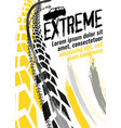 motorcycle tire banners 1-07 vector image vector image