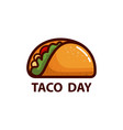 Taco icon or logo concept