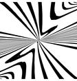 Zebra Abstract Background vector image vector image