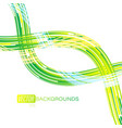 green colors bright scene on a white vector image vector image