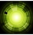 Green hi-tech background vector image vector image