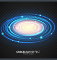 milky way effect vector image